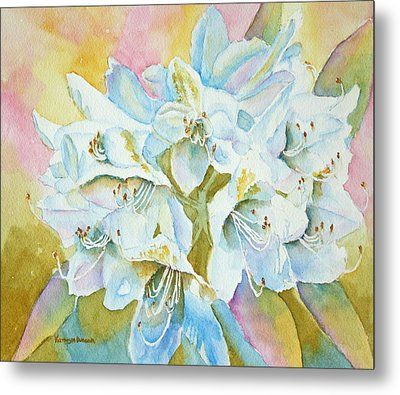 Go With The Glow Metal Print by Kathryn Duncan