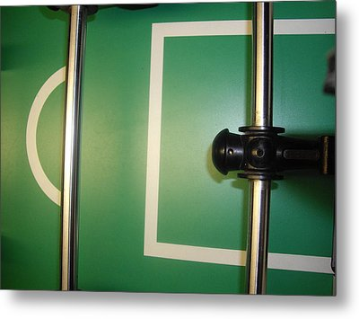 Goal Keeper Metal Print by Robert Cunningham