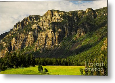 Goat Mountain Metal Print