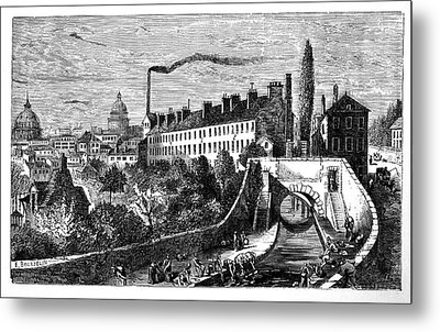 Gobelins Manufactory Metal Print by Science Photo Library