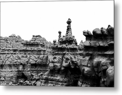 Goblin Tower Metal Print