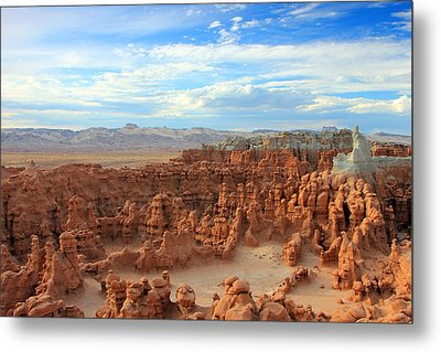 Goblin Valley Metal Print by Johnny Adolphson