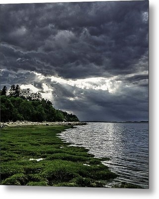 God Rays Metal Print by Keith Woodbury