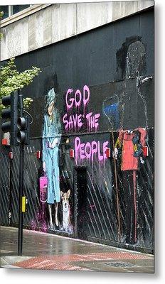 God Save The People Metal Print