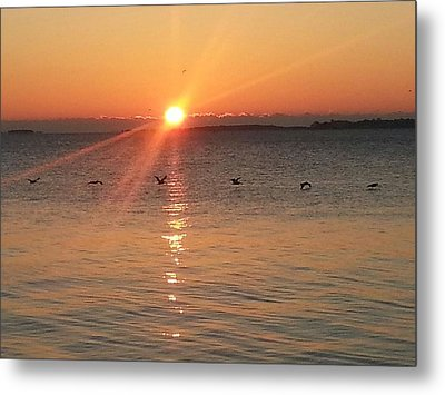 Metal Print featuring the photograph God Showed Up by Joetta Beauford
