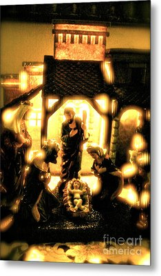 God With Us Metal Print by Jay Nodianos