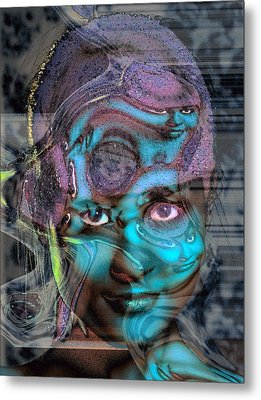 Metal Print featuring the photograph Goddess Of Love And Confusion by Richard Thomas
