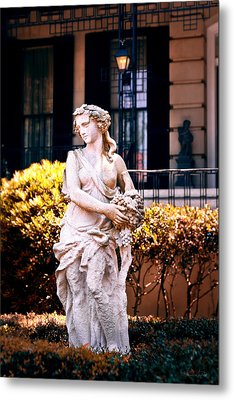 Goddess Of The South Metal Print by Renee Sullivan