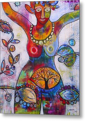 Goddess Of Truth Metal Print by Shannon Crandall