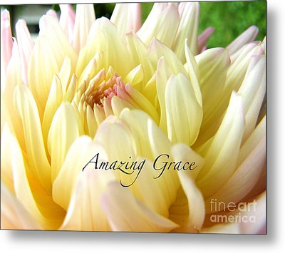 Metal Print featuring the photograph God's Amazing Garden by Margie Amberge