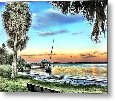 God's Country IIi Metal Print by Carlos Avila