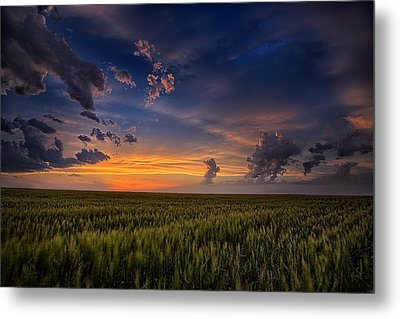 God's Country Metal Print by Thomas Zimmerman