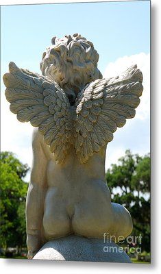 Gods Little Angels Metal Print by Kathy Gibbons