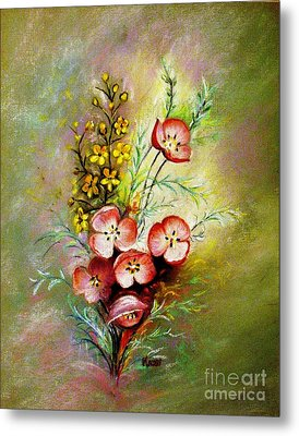 God's Smile Metal Print by Hazel Holland