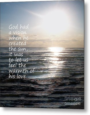 Gods Vision Metal Print by Jeffery Fagan