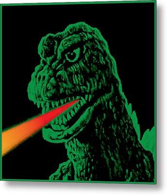 Godzilla Metal Print by Gary Grayson