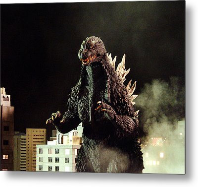 Godzilla, King Of The Monsters!  Metal Print by Silver Screen