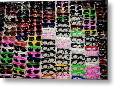 Goggles Metal Print by Money Sharma