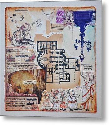 Gogol And Pilate Metal Print by Nekoda  Singer