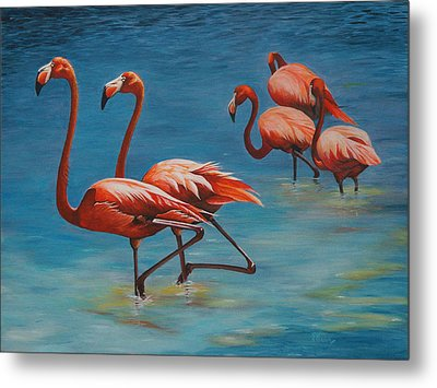 Going Exclusive Metal Print by Pam Kaur