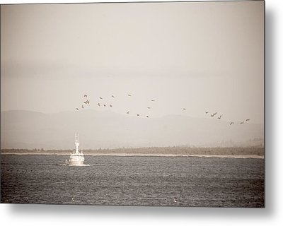 Metal Print featuring the photograph Going Fishing by Erin Kohlenberg