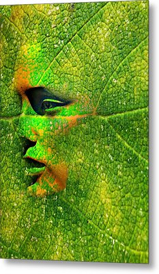 Going Green Metal Print by Diana Angstadt