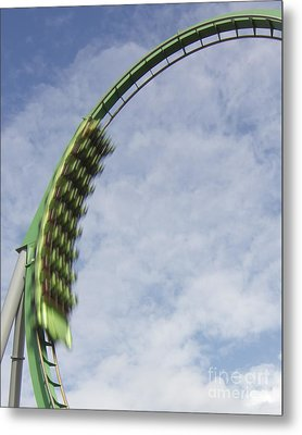 Going Green Metal Print by James Knights