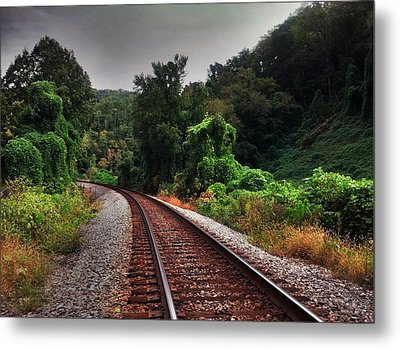 Metal Print featuring the photograph Going Somewhere by Janice Spivey