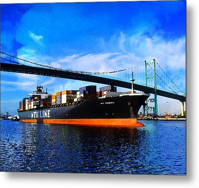 Going To Sea Metal Print by Timothy Bulone