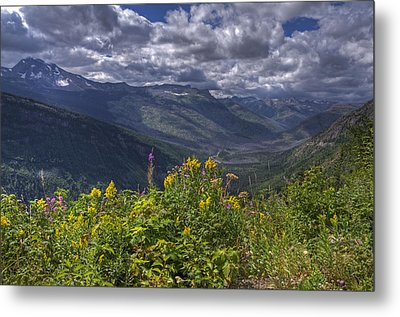 Going To The Sun Road Metal Print
