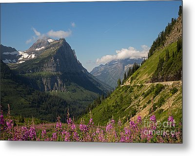 Going To The Sun Road Metal Print by Natural Focal Point Photography