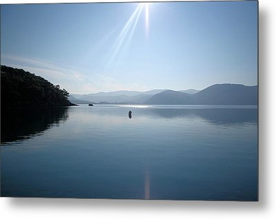Metal Print featuring the photograph Gokova Bay  by Tracey Harrington-Simpson