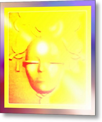 Gold Angel Metal Print by Hartmut Jager