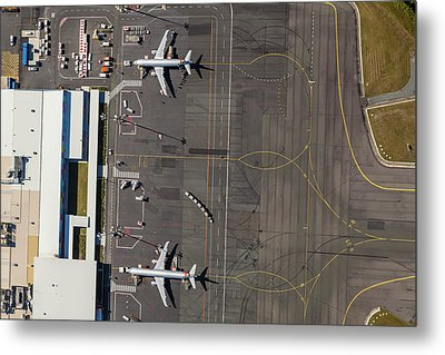 Gold Coast Airport Ool Metal Print by Brett Price
