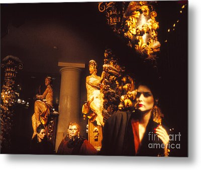 Metal Print featuring the photograph Gold Mars by Steven Macanka