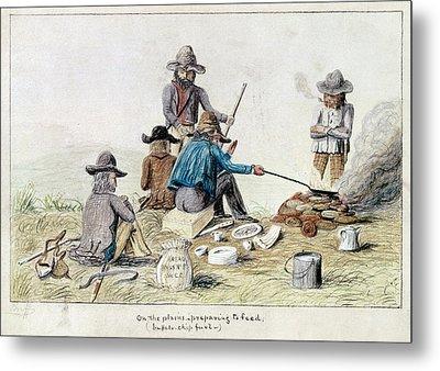 Gold Rush, 1849 Metal Print by Granger