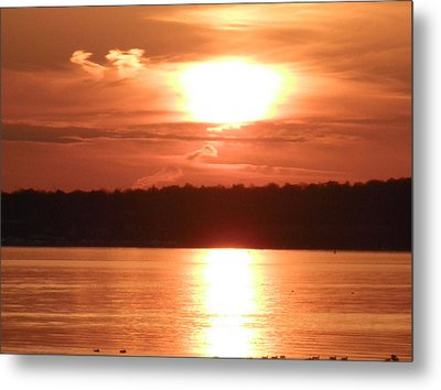 Golden Bay Metal Print by Kate Gallagher