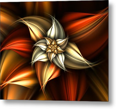Golden Beauty Metal Print by Ester  Rogers