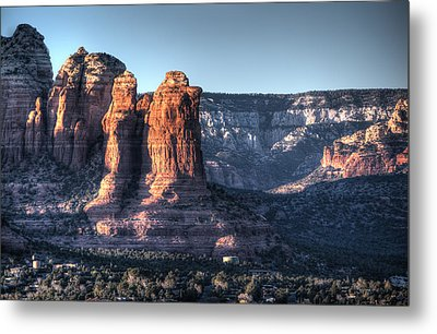 Metal Print featuring the photograph Golden Buttes by Lynn Geoffroy