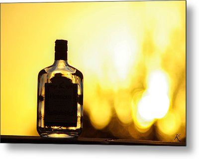 Golden Days Metal Print