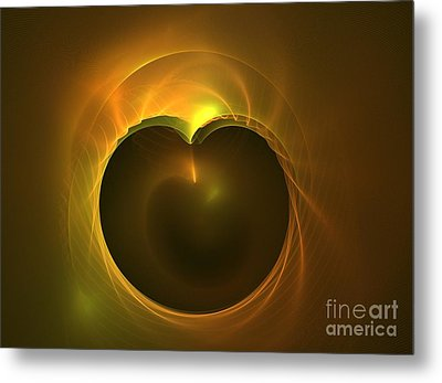 Golden Delicious Metal Print by Kim Sy Ok