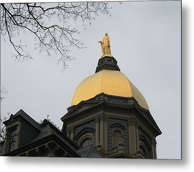 Golden Dome Nd 2 Metal Print