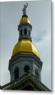 Golden Dome Metal Print by Soul Full Sanctuary Photography