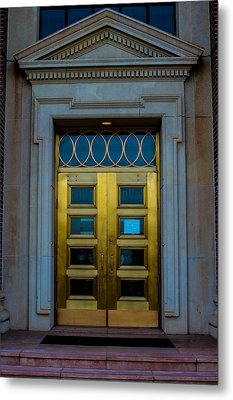 Golden Door Metal Print