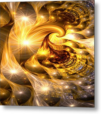 Golden Dreams II Metal Print