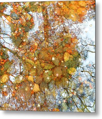 Golden Dreams Metal Print