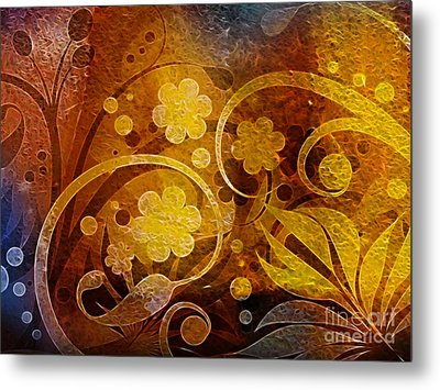 Golden Dreams Metal Print by Lutz Baar