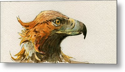 Golden Eagle Metal Print by Juan  Bosco
