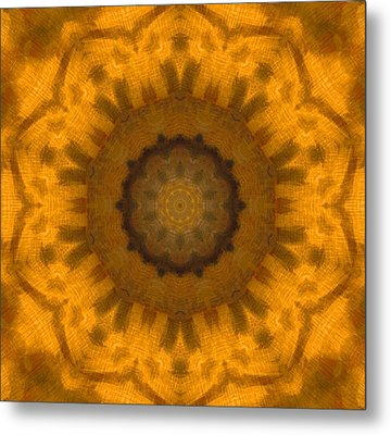 Golden Flower Metal Print by Dan Sproul