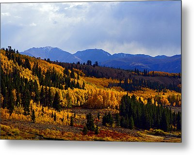Golden Fourteeners Metal Print by Jeremy Rhoades